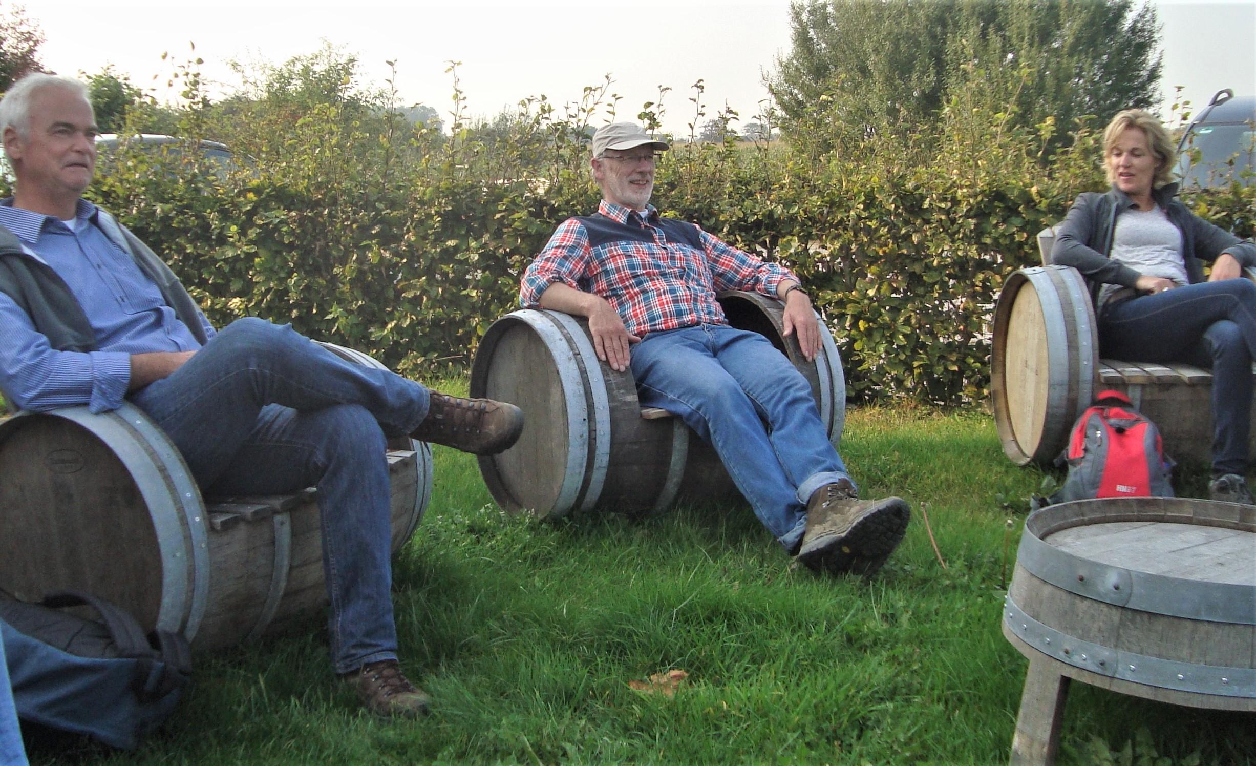 Wijngaard bezoeken Nederland Vinaventura